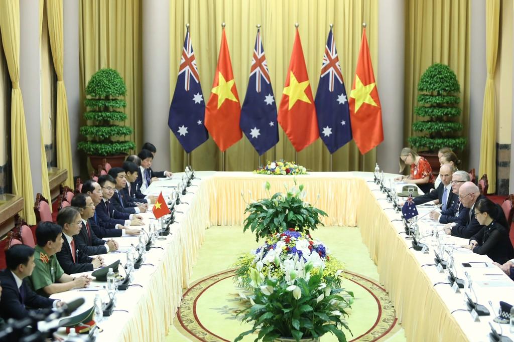 Chủ tịch nước hội đàm với Toàn quyền Australia - ảnh 1