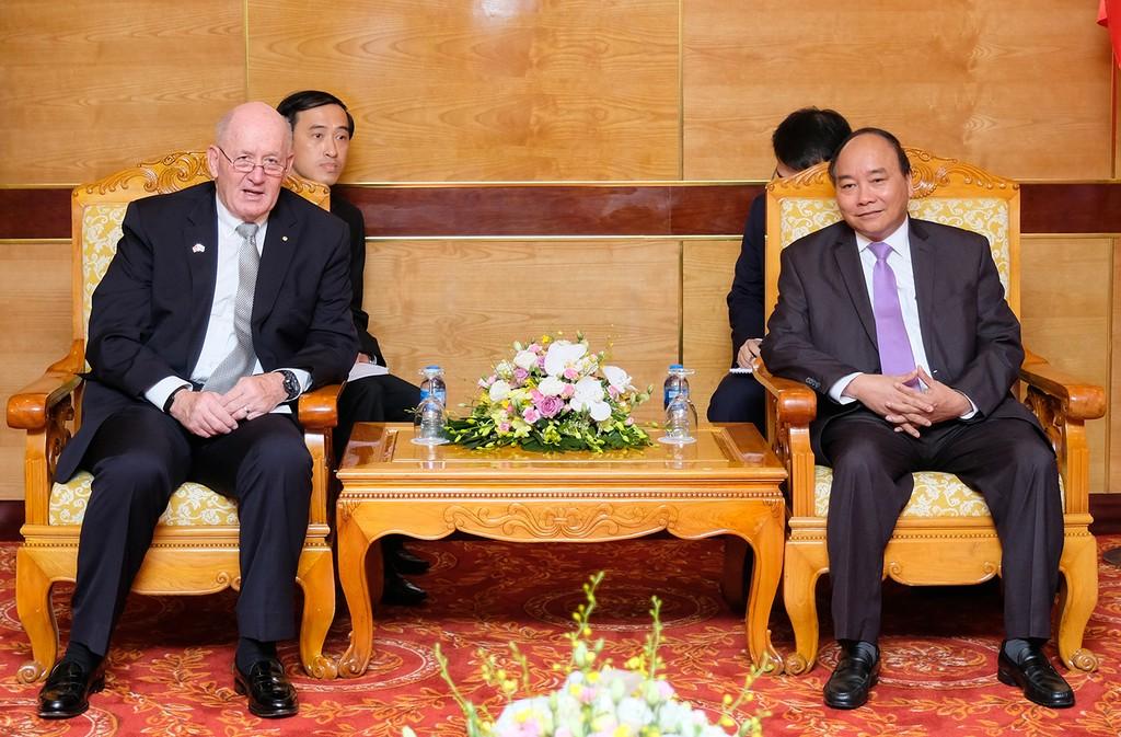 Thủ tướng Nguyễn Xuân Phúc hội kiến Toàn quyền Australia - ảnh 1
