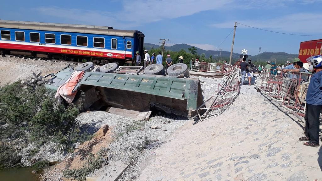 Tai nạn đường sắt tại Thanh Hóa: 2 người tử vong, 10 người bị thương. Ảnh Internet