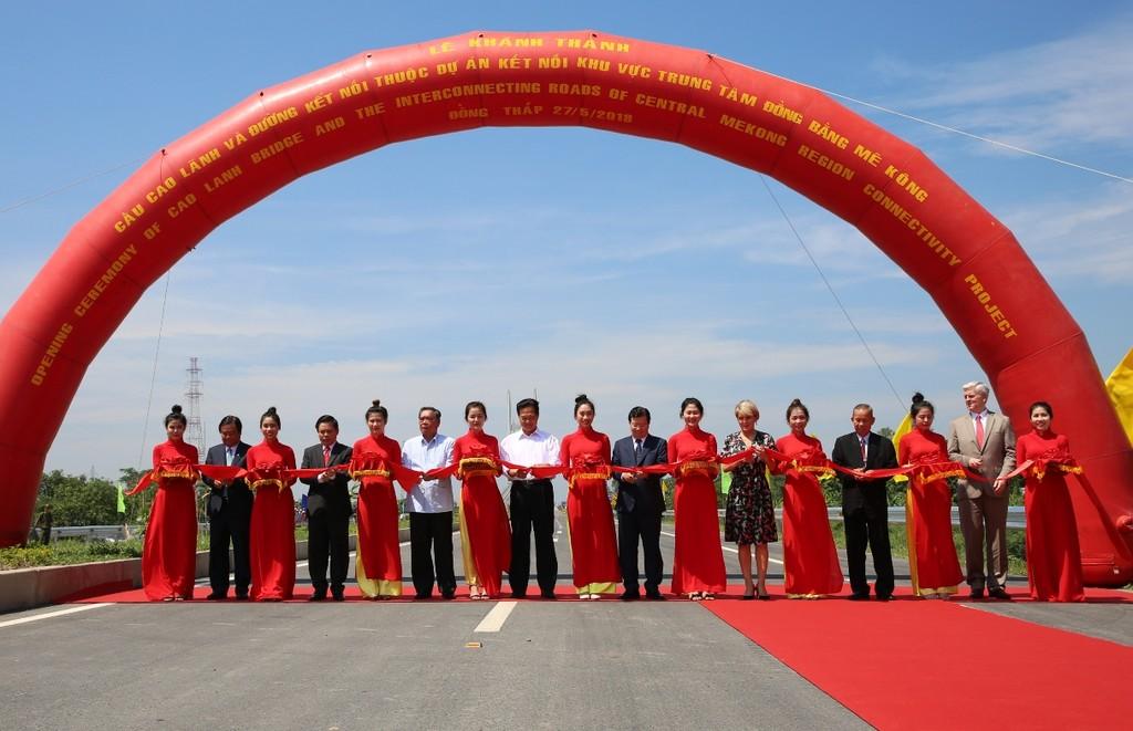 Khánh thành cầu Cao Lãnh, công trình hữu nghị Việt Nam – Australia - ảnh 1