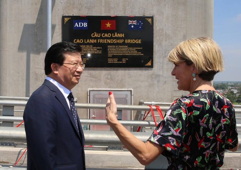 Khánh thành cầu Cao Lãnh, công trình hữu nghị Việt Nam – Australia - ảnh 3