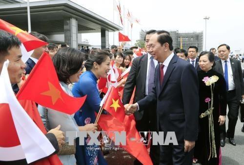 Nhật Bản bắn 21 loạt đại bác chào mừng Chủ tịch nước Trần Đại Quang - ảnh 3