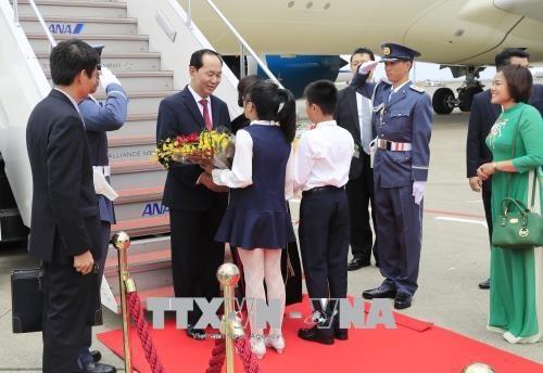 Nhật Bản bắn 21 loạt đại bác chào mừng Chủ tịch nước Trần Đại Quang - ảnh 4
