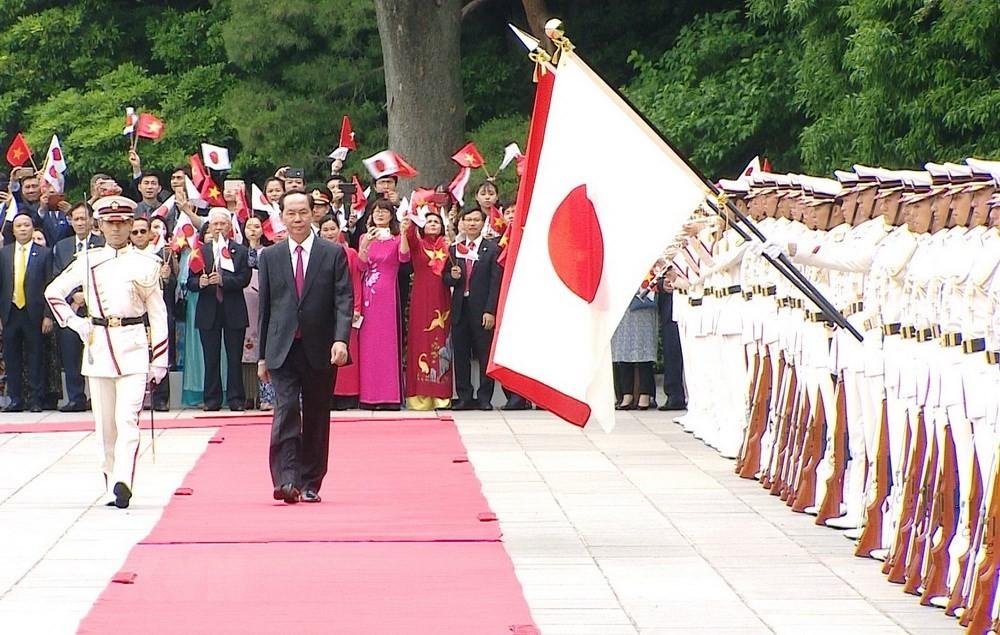 Lễ đón chính thức Chủ tịch nước Trần Đại Quang - ảnh 1