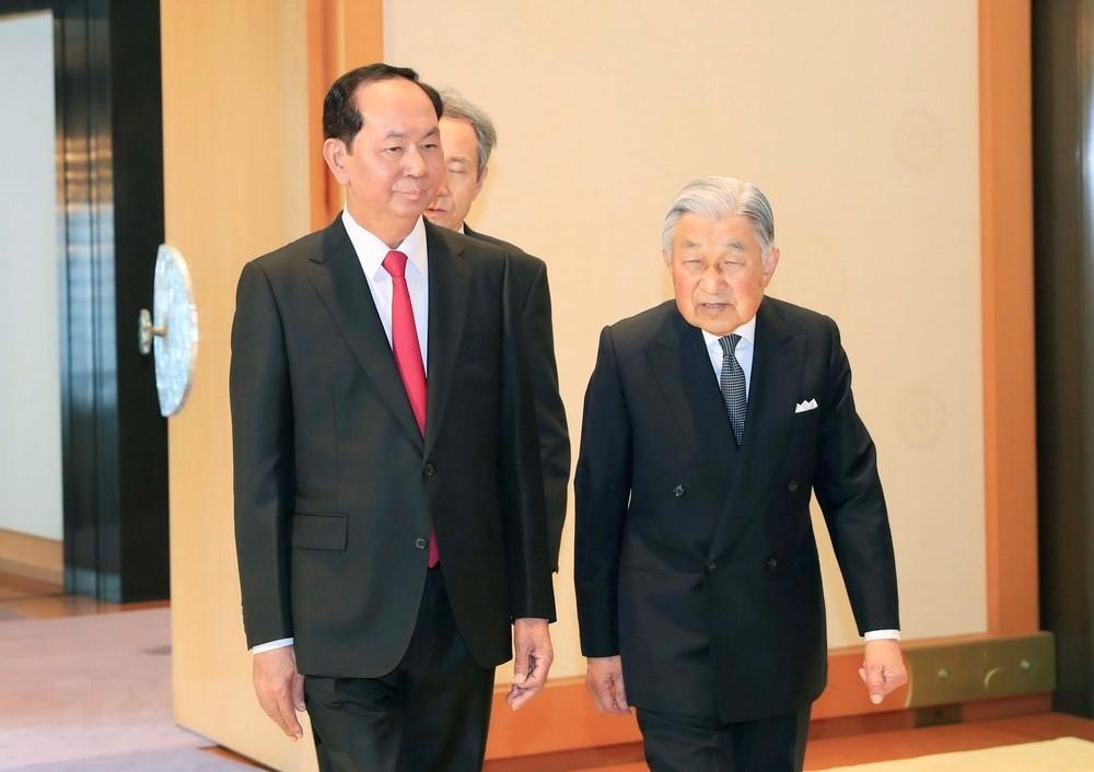 Lễ đón chính thức Chủ tịch nước Trần Đại Quang - ảnh 2