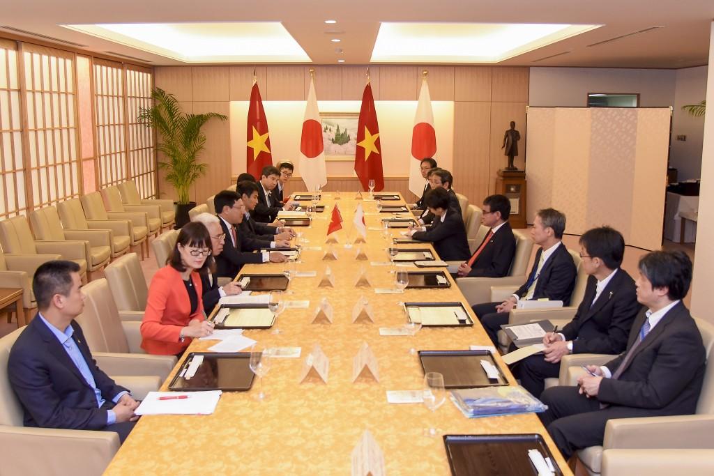 Việt Nam, Nhật Bản phối hợp thúc đẩy đầu tư vào các lĩnh vực tiềm năng - ảnh 1