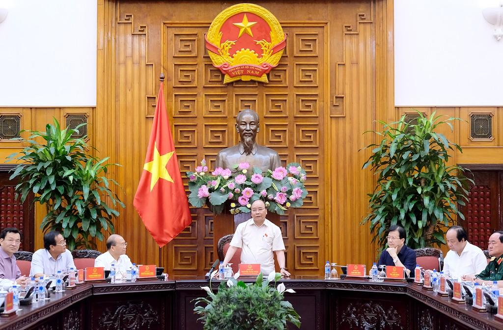 Thủ tướng làm việc với lãnh đạo tỉnh Bình Thuận - ảnh 1