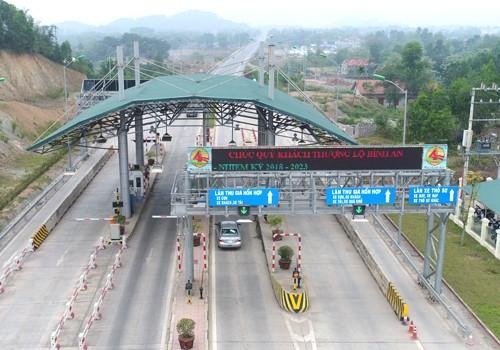 Nguồn thu từ trạm thu trên đường Thái Nguyên Chợ Mới không đủ hoàn vốn cho dự án.