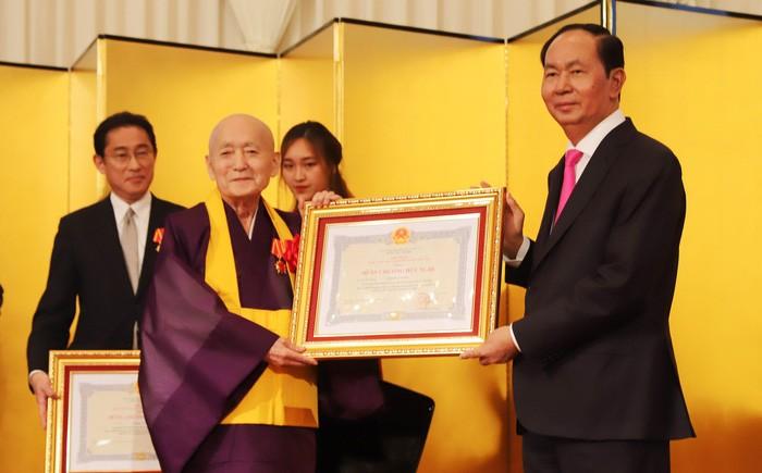 Việt Nam, Nhật Bản kỷ niệm 45 năm quan hệ ngoại giao - ảnh 1