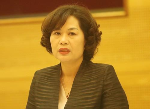 Bà Nguyễn Thị Hồng - Phó thống đốc Ngân hàng Nhà nước.