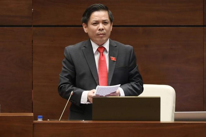 Toàn cảnh: Bộ trưởng Nguyễn Văn Thể trả lời chất vấn - ảnh 1