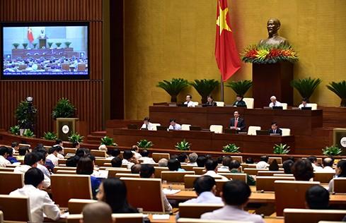 Toàn cảnh: Bộ trưởng Nguyễn Văn Thể trả lời chất vấn - ảnh 2