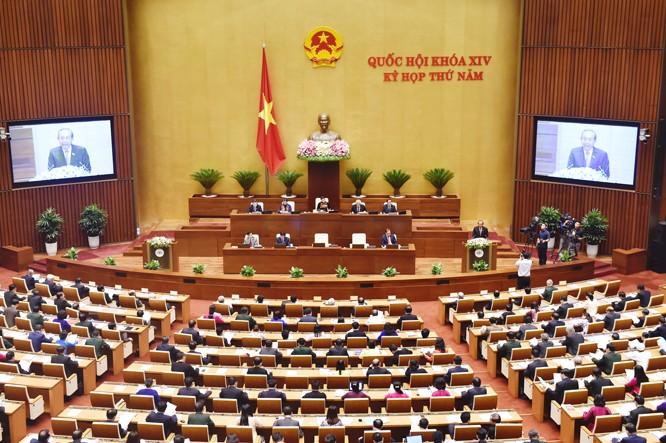 Toàn cảnh: Bộ trưởng Nguyễn Văn Thể trả lời chất vấn - ảnh 3