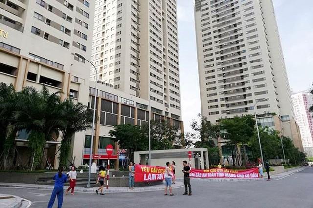 Đại diện cư dân The Pride cho biết, mặc dù đã phản ánh lên phía chủ đầu tư nhiều lần nhưng vẫn không được xử lý dứt điểm.