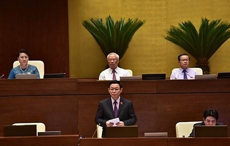 Phó Thủ tướng Vương Đình Huệ trả lời chất vấn - ảnh 1