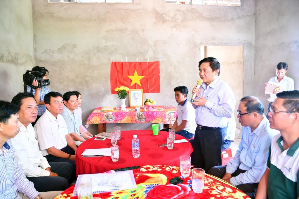Vietcombank bàn giao nhà tình nghĩa cho hộ nghèo tại tỉnh Tiền Giang - ảnh 2