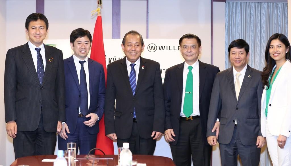 Phó Thủ tướng Trương Hòa Bình hội kiến Chủ tịch Thượng viện Nhật Bản - ảnh 3