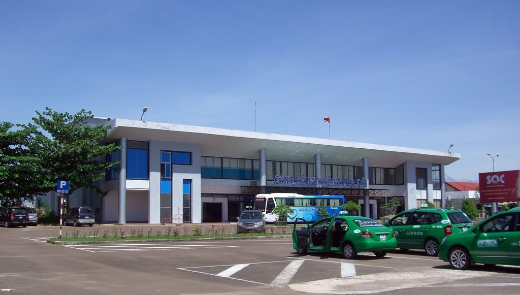 Sân bay Phù Cất. Ảnh Internet