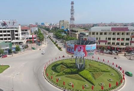 Một góc thành phố Hà Tĩnh