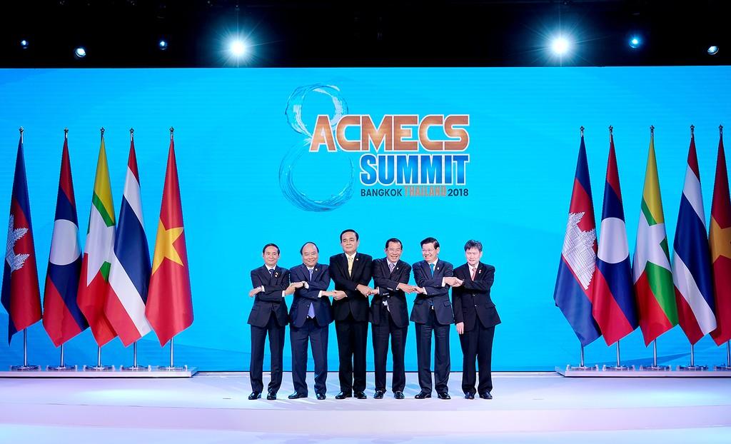 Thủ tướng kết thúc chuyến tham dự Hội nghị ACMECS 8 và CLMV 9 - ảnh 1