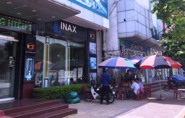 Quán nước đường Lý Thường Kiệt, thuộc phường Lê Hồng Phong - nơi 2 phóng viên bị hành hung