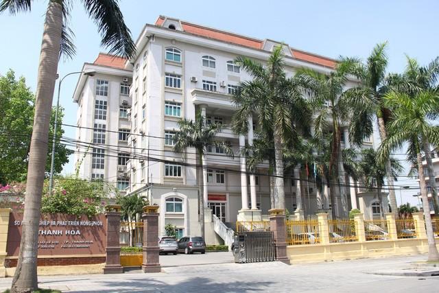 """Sở NN&PTNT tỉnh Thanh Hóa- nơi hàng loạt cán bộ được bổ nhiệm """"thần tốc""""."""