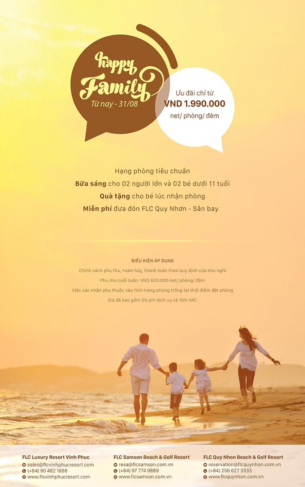 Cho một mùa hè lý thú cùng cả gia đình với gói nghỉ dưỡng Happy Family từ Tập đoàn FLC - ảnh 7
