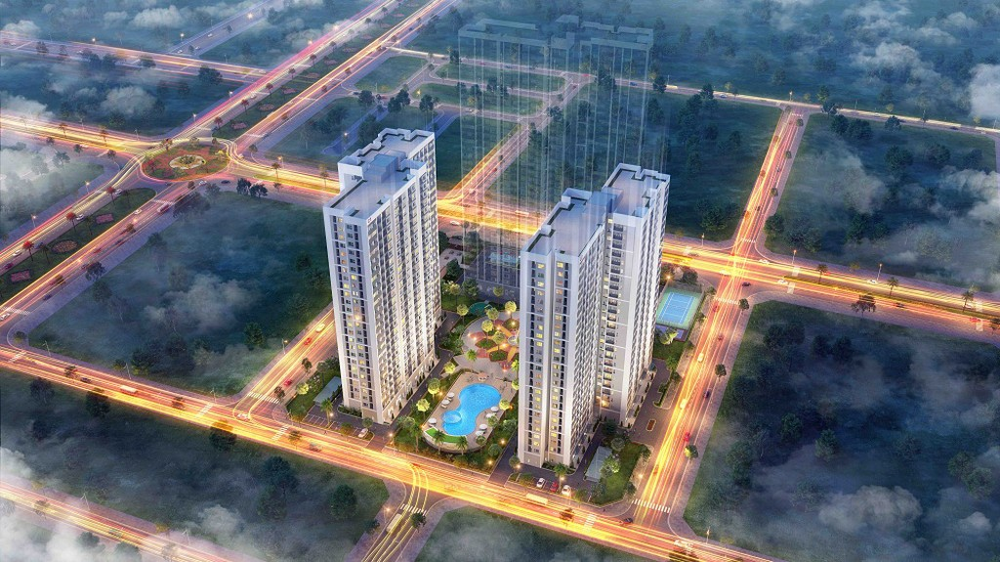 Phối cảnh dự án Vinhomes New Center - Hà Tĩnh