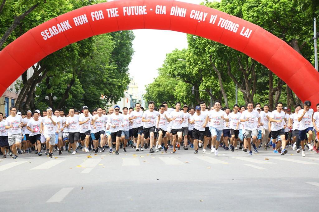 """1.500 vận động viên tham gia giải chạy """"Gia đình chạy vì tương lai - SeABank Run For The Future"""" - ảnh 3"""