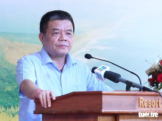 Ông Trần Bắc Hà thời còn làm Bí thư Đảng ủy, Chủ tịch BIDV