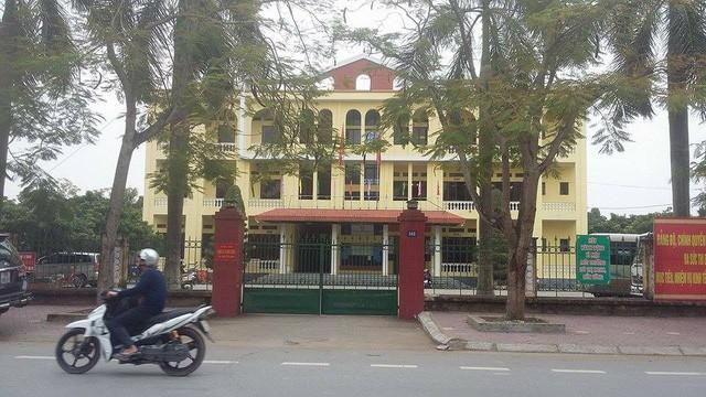 Trụ sở UBND thị trấn Tiên Lãng (ảnh Internet)