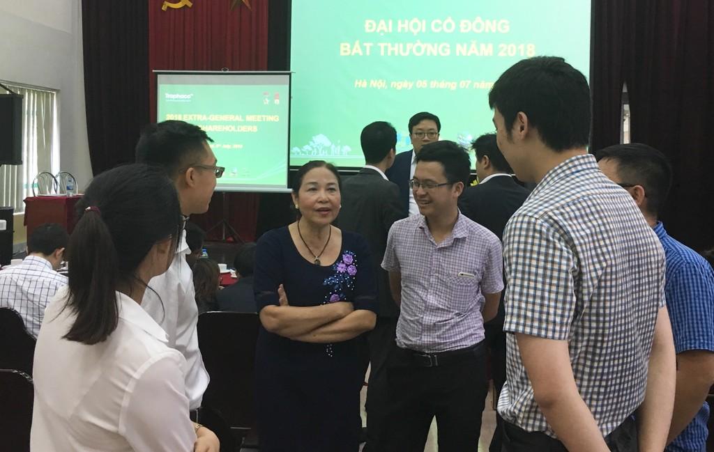 ĐHĐCĐ Traphaco: Bầu 2 thành viên HĐQT từ Daewoong và Mirae Asset - ảnh 1