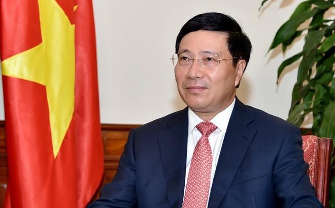 Phó Thủ tướng, Bộ trưởng Ngoại giao Phạm Bình Minh. Ảnh: VGP