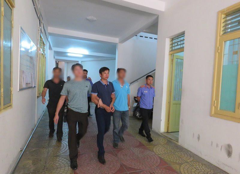 Cơ quan điều tra Viện KSND tối cao di lý bị can Long từ Quảng Bình vào Đà Nẵng.