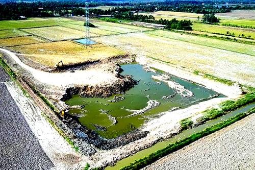 Hàng chục nghìn m3 đất mặt đã bị khai thác trái phép