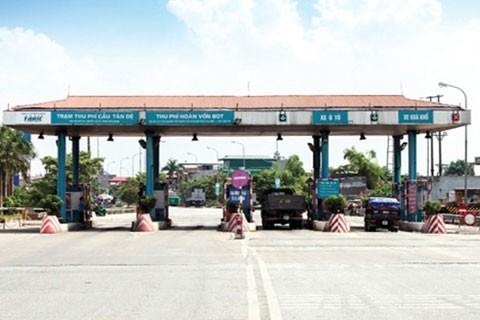 Trạm thu phí cầu Tân Đệ, tỉnh Thái Bình