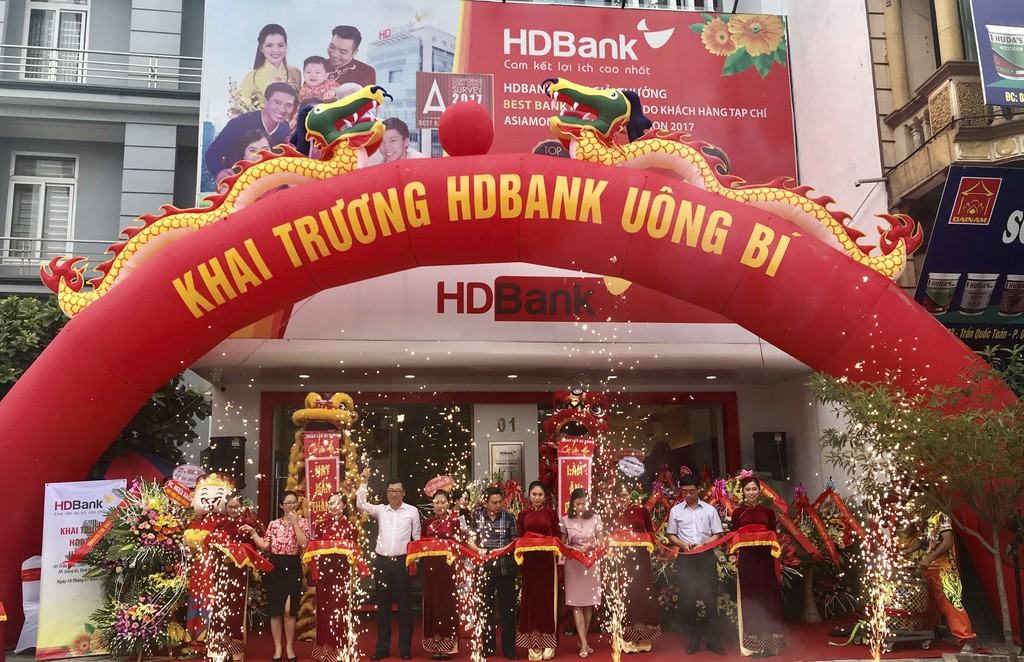HDBank khai trương HDBank Lộc Hà và HDBank Uông Bí - ảnh 1