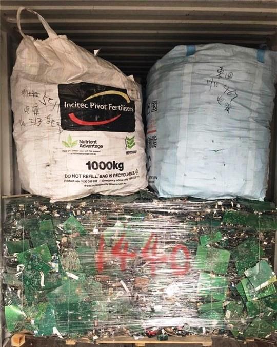 Phát ngán với hàng ngàn container phế liệu nhập khẩu vô chủ - ảnh 1