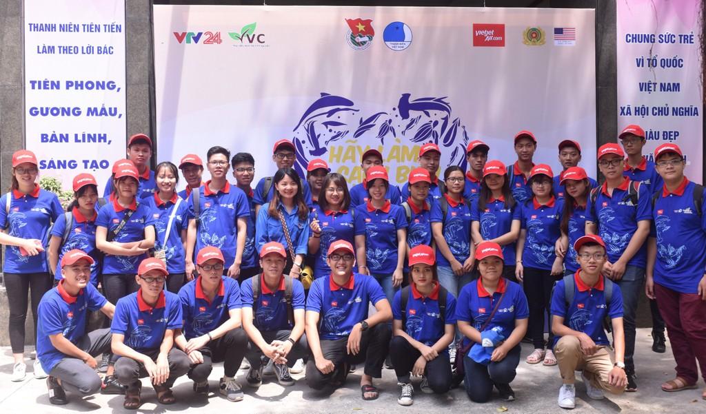 Vietjet đồng hành cùng Trung ương Hội Liên hiệp Thanh niên Việt Nam trong chiến dịch Hãy làm sạch biển 2018 tại 28 tỉnh, thành phố ven biển