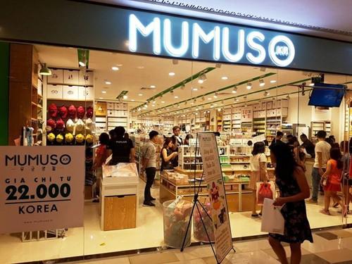 """Mumuso luôn dùng chữ """"Korea"""" quảng cáo sản phẩm."""