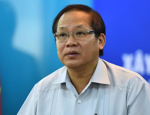 Bộ trưởng Thông tin Truyền thông Trương Minh Tuấn.  Ảnh: Vnexpress