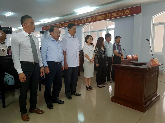 Bà Rịa - Vũng Tàu: Vụ xét xử nguyên lãnh đạo UNND TP. Vũng Tàu: Nhóm cựu quan chức đồng loạt kêu oan - ảnh 2
