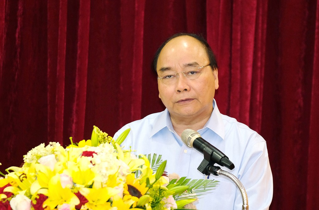 Thủ tướng thị sát hoạt động, làm việc với Formosa Hà Tĩnh - ảnh 1