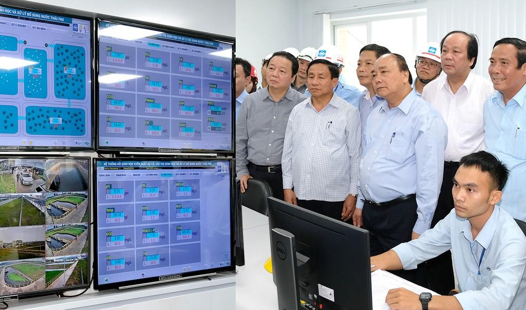 Thủ tướng thị sát hoạt động, làm việc với Formosa Hà Tĩnh - ảnh 5