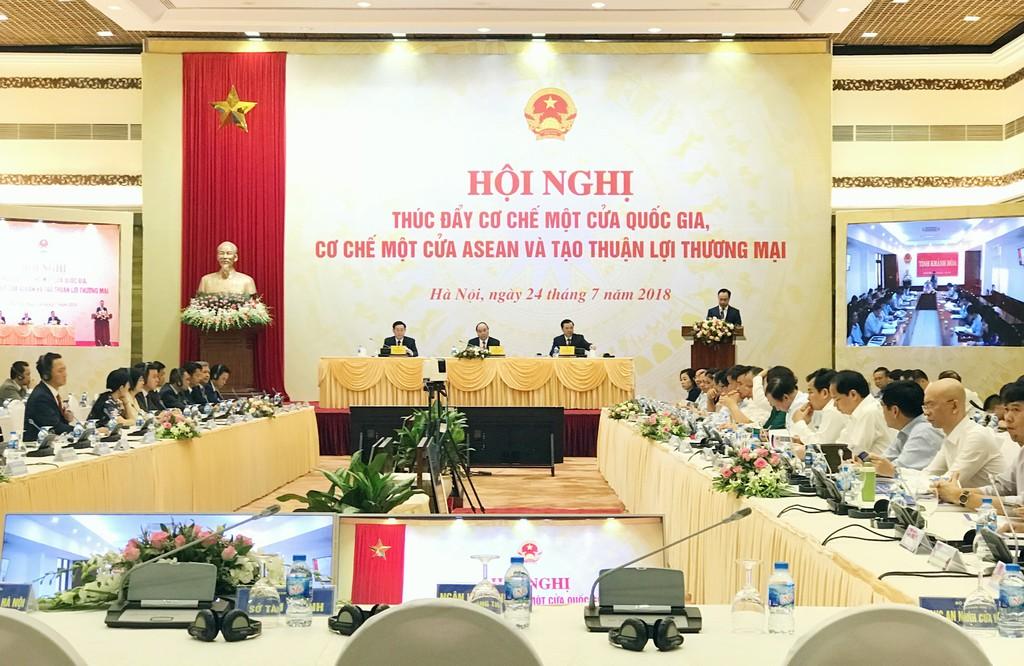Thủ tướng Chính phủ chủ trì Hội nghị toàn quốc thúc đẩy Cơ chế một cửa - ảnh 1