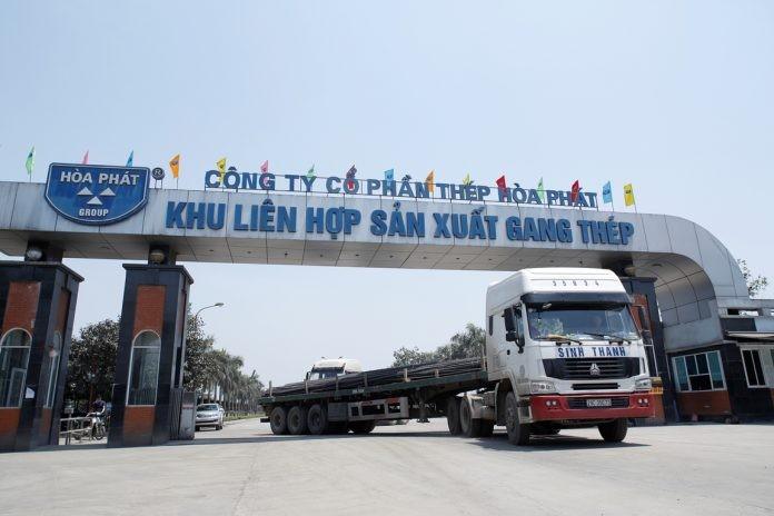 Hòa Phát không bị áp thuế khi xuất khẩu sang EU. Ảnh Internet