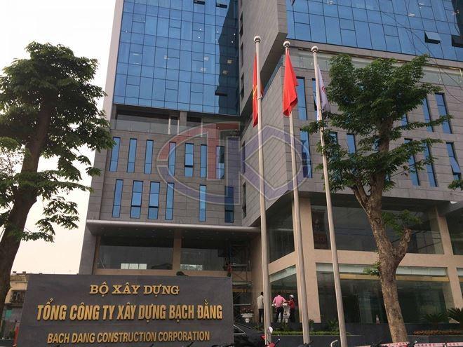 Trụ sở mới của Tổng công ty xây dựng Bạch Đằng tại Hải Phòng.