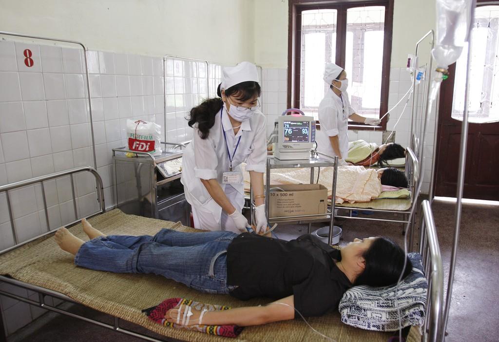 6 tháng đầu năm, BHXH đã chi 46.922 tỷ đồng khám chữa bệnh. Ảnh: Tường Lâm