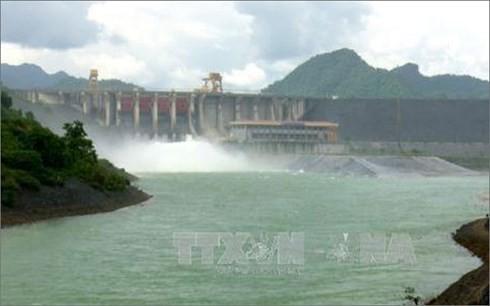 Hồ thủy điện Tuyên Quang. Ảnh: TTXVN