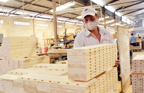 Ngành gỗ đã hoàn thành gần 46% mục tiêu xuất khẩu cả năm.
